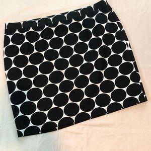 NWOT Lane Bryant Collection Tan/Black Pencil Skirt
